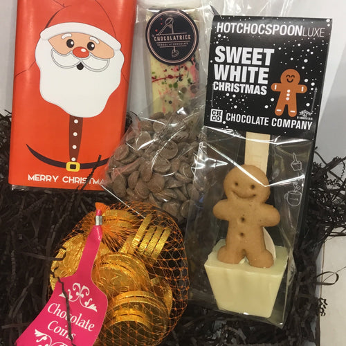 Christmas 'Goodies' Mixed Chocolate Selection Box | Chocolat in Kirkby Lonsdale