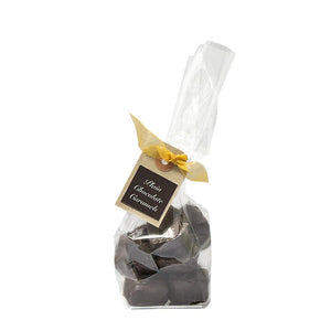 Bag of Chewy Dark Chocolate Covered Caramels | Chocolat in Kirkby Lonsdale