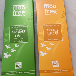 Assorted 'Moo Free' Vegan Chocolate Bars | Chocolat in Kirkby Lonsdale