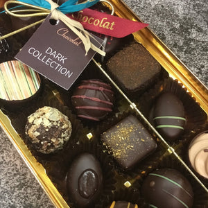 Regular Luxury Dark Chocolate Selection Box | Chocolat in Kirkby Lonsdale