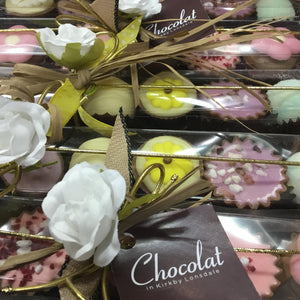 Six Chocolate Selection Stick Box | Chocolat in Kirkby Lonsdale