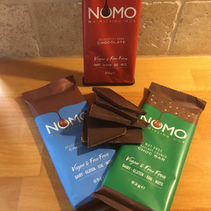 Assorted Chocolate Bars by NOMO