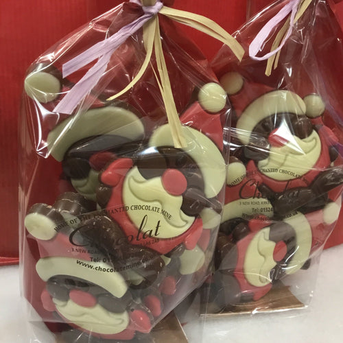 Assorted Bags of Chocolate Christmas Characters | Chocolat