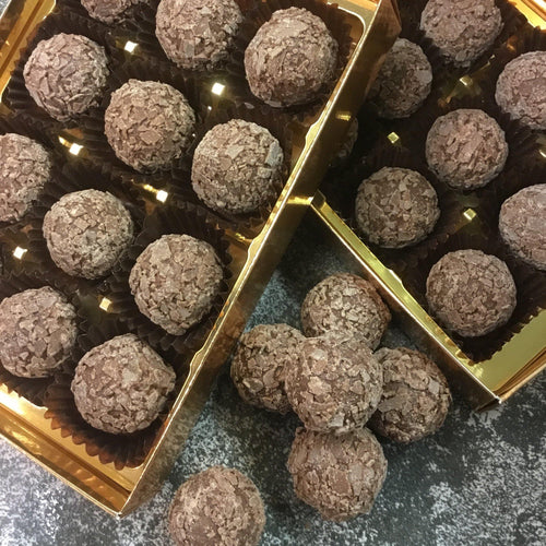 Box Of Milk Chocolate Rum Truffles | Chocolat in Kirkby Lonsdale
