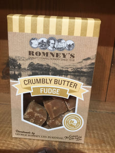Assorted Boxes of Romney's Cumbrian Fudge | Chocolat in Kirkby Lonsdale