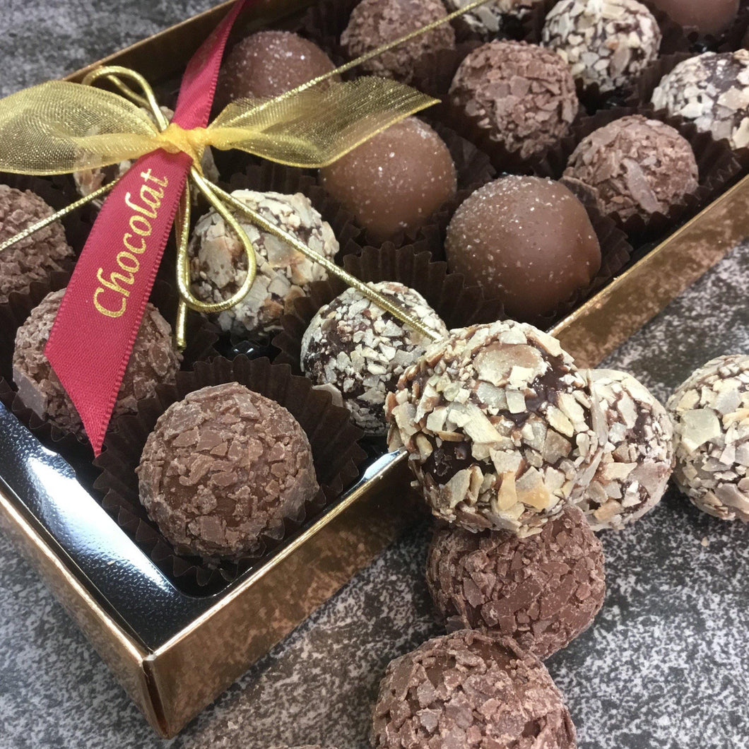 Tipsy Trio of Truffles Selection Box | Chocolat in Kirkby Lonsdale