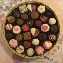 Load image into Gallery viewer, LIMITED EDITION Luxury Round 'Just For You' Mixed Chocolate Selection Box