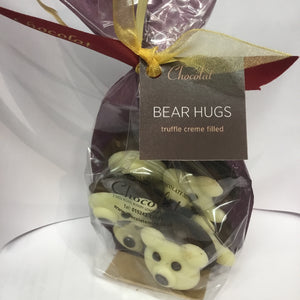 Bag of 6 Chocolate Truffle Creme Filled Bear Hugs