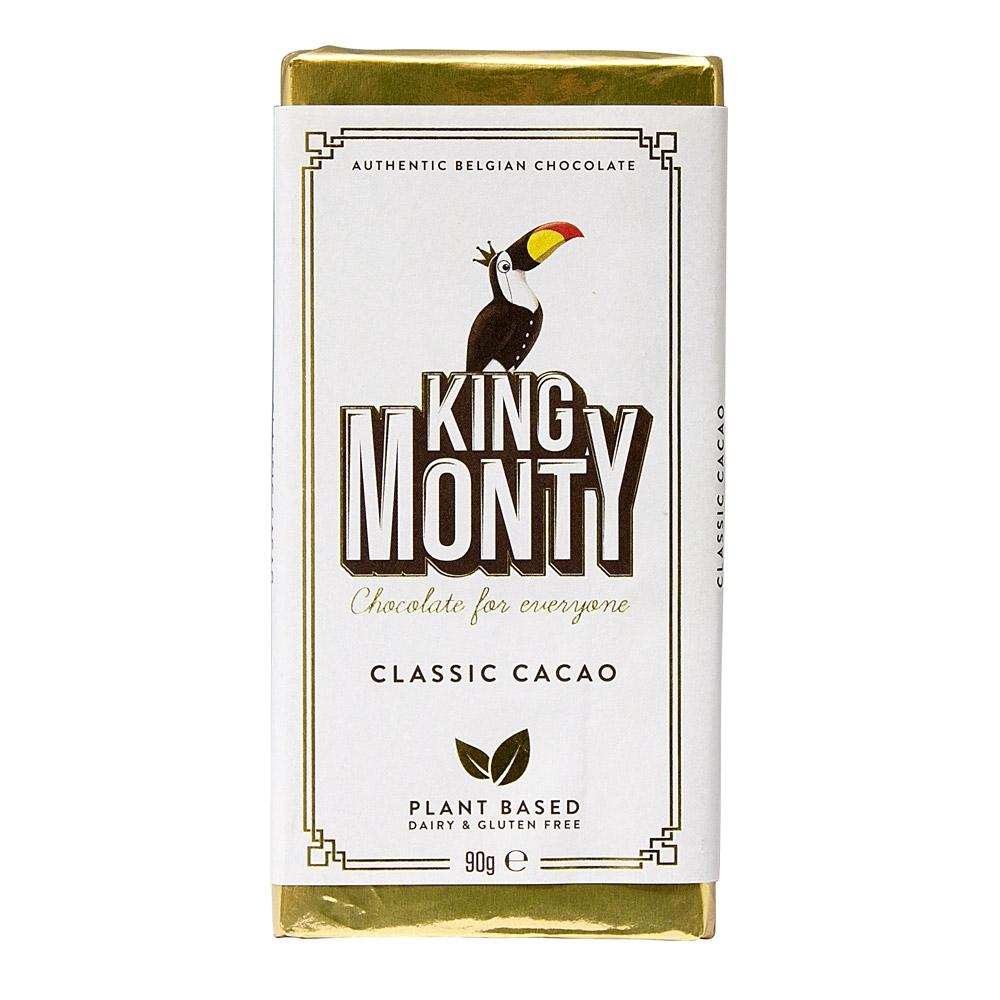 'King Monty' Classic Cacao Vegan Chocolate Bar | Chocolat in Kirkby Lonsdale
