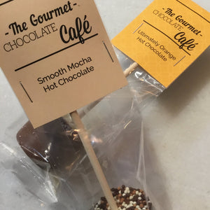 Assorted 'Gourmet Chocolate Café' Hot Chocolate Stirrers | Chocolat in Kirkby Lonsdale