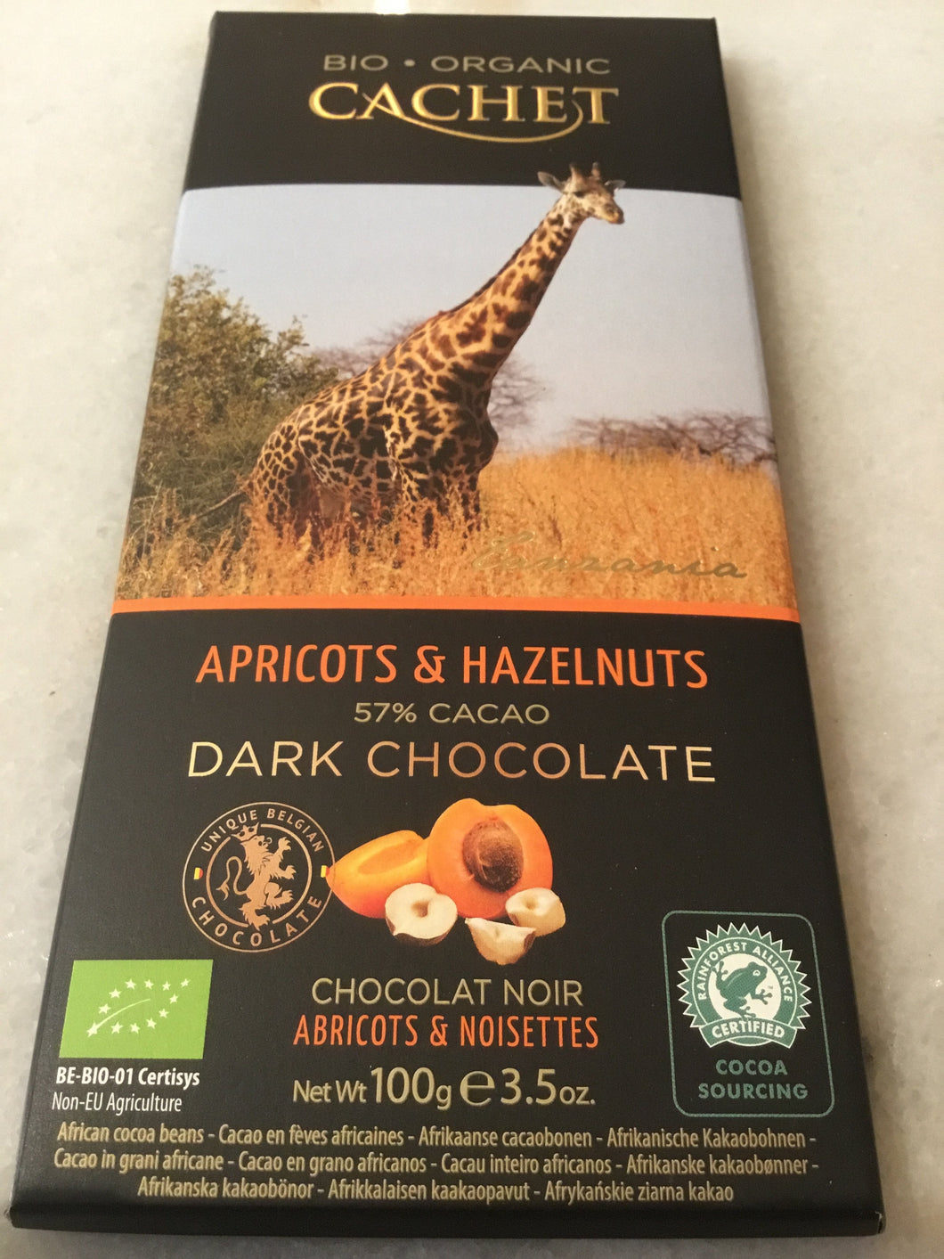 Assorted 'Cachet' Luxury Organic Dark Chocolate Bars | Chocolat in Kirkby Lonsdale