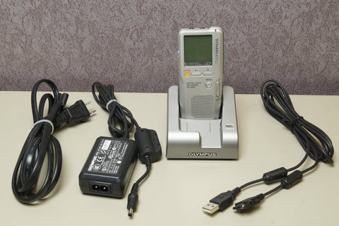 Olympus DS-4000 Handheld Digital Voice Recorder w/ Accessories