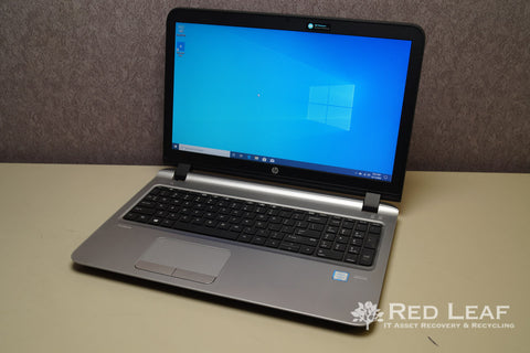 HP ProBook 450 G3 Intel Core i5-6200U @2.3GHz 8GB RAM 128GB SSD + 500GB HDD AMD Radeon R7 M340 2GB Windows 10 Pro Refurbished
