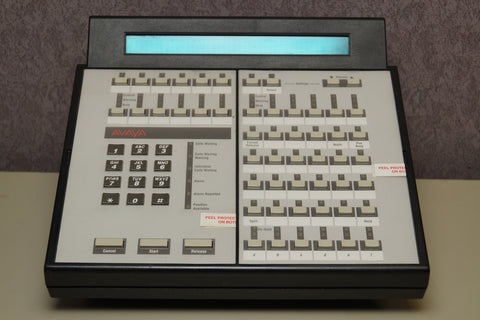 Avaya Lucent Refurbished 302C Attendant Console Gray with Cradle Kit