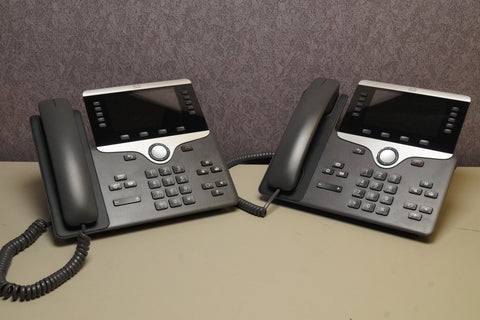 Lot of 2 - Cisco CP-8851 Unified IP Business Office Telephones POE **Warranty**