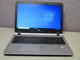 HP ProBook 450 G3 Intel Core i5-6200U @2.3GHz 8GB RAM 128GB SSD + 500GB HDD Windows 10 Pro Refurbished