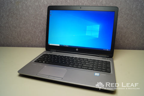 HP ProBook 650 G2 i5-6200U @2.3GHz 8GB RAM 256GB SSD Windows 10 Pro
