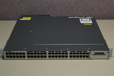 Cisco WS-C3750X-48PF-S V05 PoE+ Gigabit Ethernet Switch 2x - C3KX-PWR-1100WAC - Red Leaf Tech Store