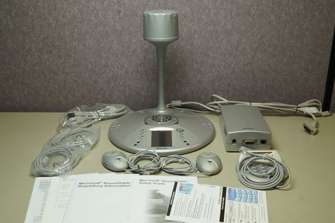 Microsoft RoundTable Video Conferencing System RTB001 Bundle With Extras