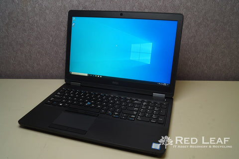 Dell Latitude E5570 Intel Core i7-6820HQ @2.7GHz Quad Core 32GB RAM 256GB m.2 SSD AMD Radeon R7 M370 2GB FHD Windows 10 Pro Refurbished - Red Leaf Tech Store