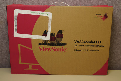 ViewSonic VA2246MH-LED 22 Inch Full HD 1080p LED Monitor with HDMI and VGA
