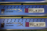 16GB Kit of Kingston PC3-12800 4GB X 4 1600 MHz DDR3 Memory KHX1600C9D3K4/16GX