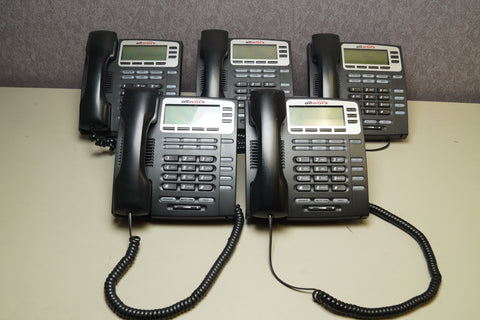 Lot of 5 - Allworx 9204G VoIP Display Office Phone *WARRANTY*