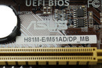 ASUS H81M-E/ M51AD/ DP Motherboard W/ Heatsink, I/O Shield, Wireless AC & BT - Red Leaf Tech Store