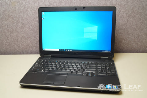Dell Latitude E6540 i7-4810MQ @2.8GHz Quad Core 16GB RAM 256GB SSD Win 10 Pro