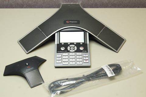 Polycom 2201-40000-001 SoundStation IP 7000 VoIP Conference Phone w/ Mic