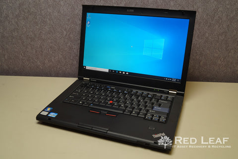 Lenovo ThinkPad T420 Intel Core i5-2520M @2.5GHz 8GB RAM 500GB HDD Windows 10 Pro Refurbished