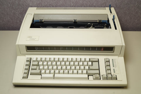 IBM 6781-024 Wheelwriter 1000 By Lexmark Tested AS-IS Working - Red Leaf Tech Store