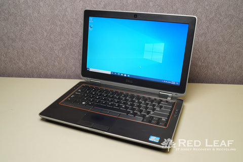 Dell Latitude E6320 Intel Core i7-2640M @2.8GHz 8GB RAM 320GB HDD Windows 10 Pro