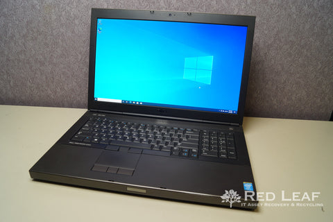 Dell Precision M6800 i7-4900MQ @2.8GHz Quad Core 32GB RAM 500GB SSD + 500GB HDD Win 10 Pro