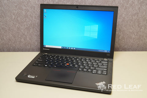 Lenovo ThinkPad X240 i5-4200U @1.6GHz 8GB RAM 500GB HDD + 16GB SSCD Win 10 Pro