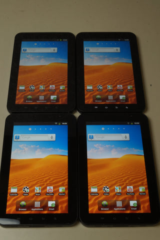Lot of 4 - Samsung Galaxy Tab GT-P1010 All Working