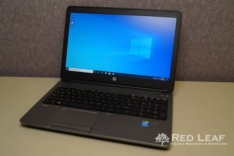 HP ProBook 650 G1 Intel Core i5-4210M @2.6GHz 8GB RAM 256GB SSD Windows 10 Pro Refurbished