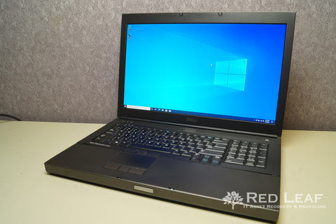 Dell Precision M6800 i7-4700MQ @2.4GHz Quad Core 32GB RAM 500GB SSD + 500GB HDD Win 10 Pro