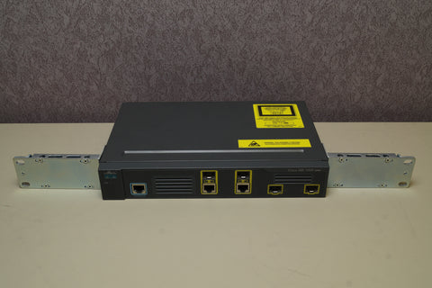 GENUINE CISCO ME-3400G-2CS-A V03 2-PORT GIGABIT ETHERNET SWITCH W/Rack Ears