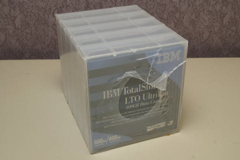 NEW IBM LTO-3 Ultrium DLT Tape 400/800GB,  5 Total, PN 24R1922