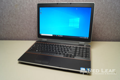 Dell Latitude E6520 i5-2520M @2.5GHz 8GB RAM 320GB HDD Windows 10 Pro