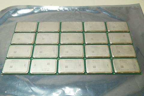 Lot of 20 - AMD Opteron OS6272WKTGGGU 2.1GHz 16 Core CPU Processors - Red Leaf Tech Store