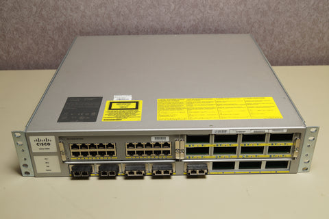 Cisco WS-C4900M V07 Switch W/ WS-X4920-GB-RJ45 & 2x PWR-C49M-1000AC
