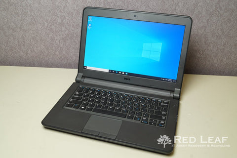 Dell Latitude 3340 Intel Core i5-4200U @1.6GHz 4GB RAM 500GB HDD Windows 10 Pro Refurbished - Red Leaf Tech Store