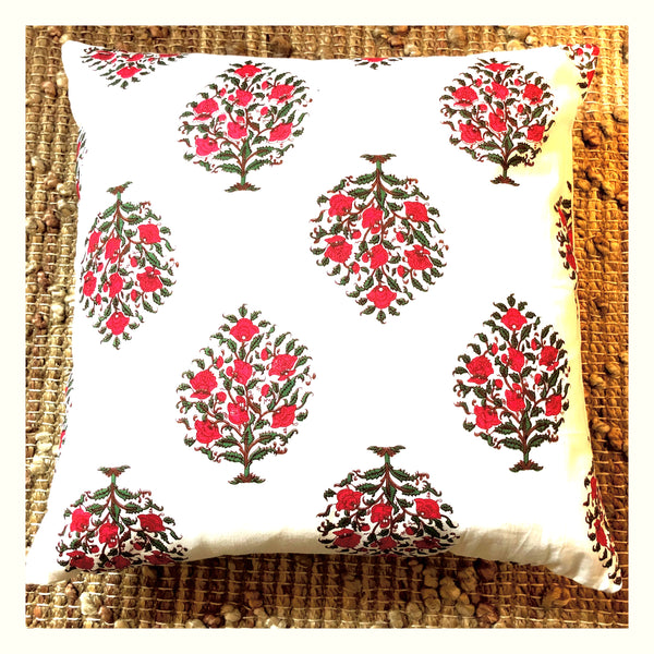 Pushpa- Decorative Pillow Cover