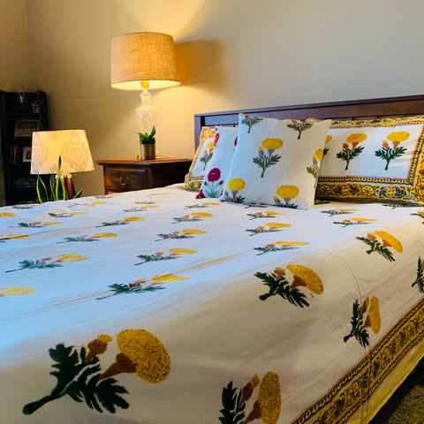 Marigold Summers - Flat Sheet Set
