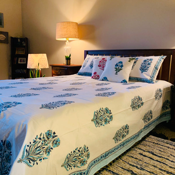 Enchanting Blues - Flat Sheet Set