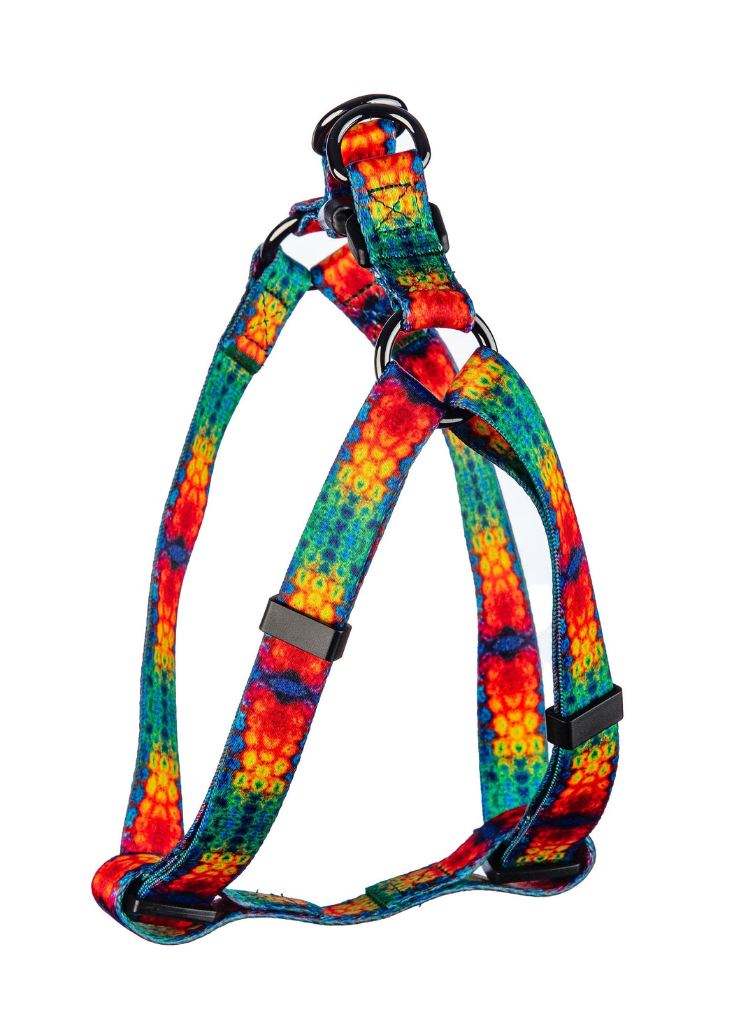 Rainbow Tie Dye Pet Harness