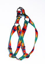 Load image into Gallery viewer, Rainbow Tie Dye Pet Harness