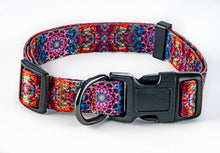 Load image into Gallery viewer, Orange/Pink mandala combo collar